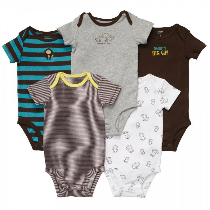 С чем носить боди новорожденному