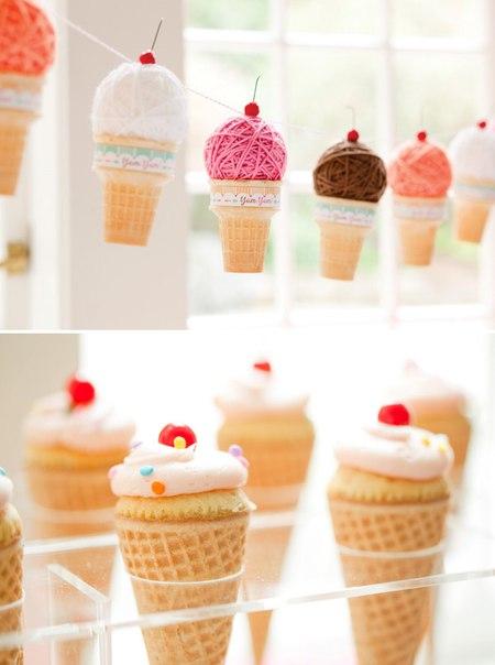 Чем украсить мороженое в домашних условиях