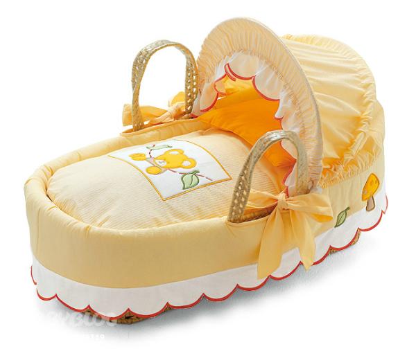 Корзинка переноска для новорожденных своими руками