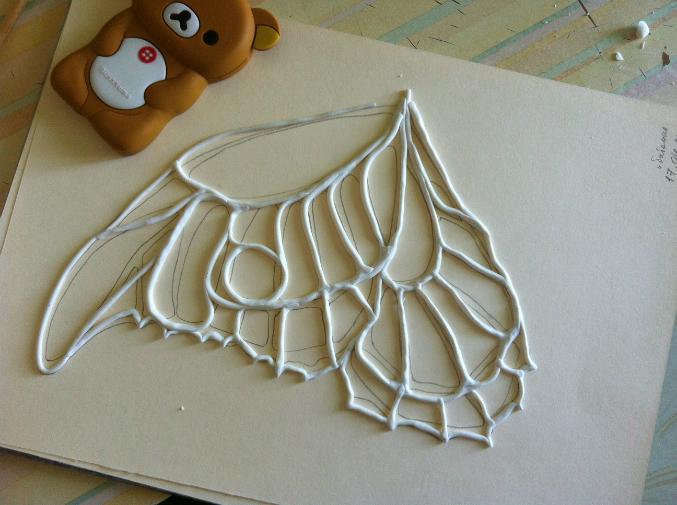 Как и из чего сделать крылья бабочки своими руками 90