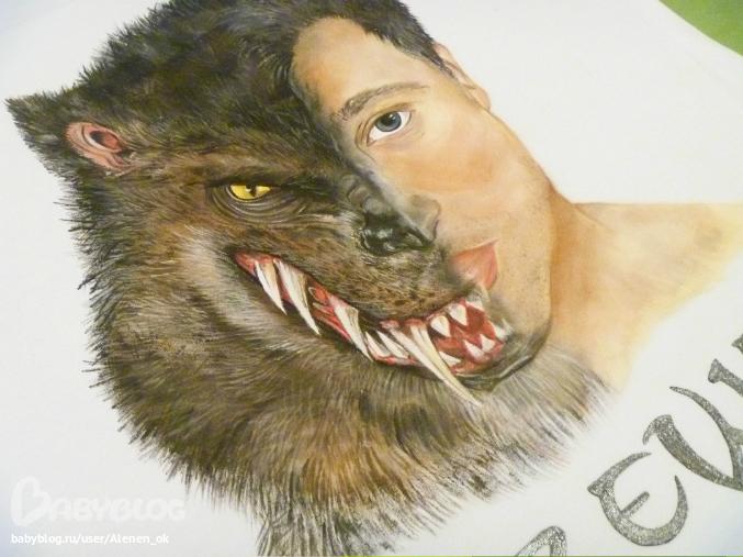 сопоставить морду волка и