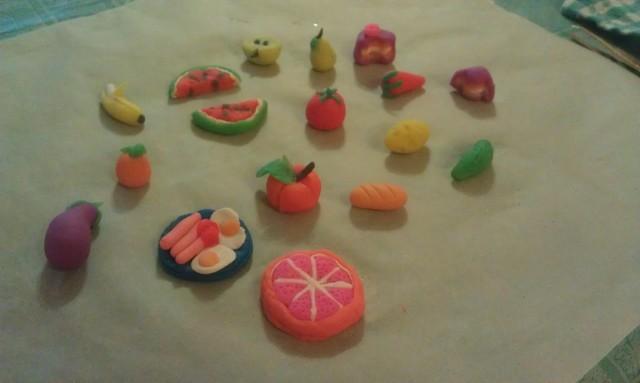 Как сделать из пластилина фрукты как сделать из пластилина фрукты