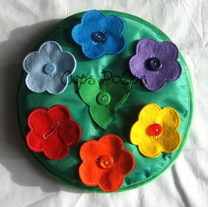 Игрушка цветок своими руками