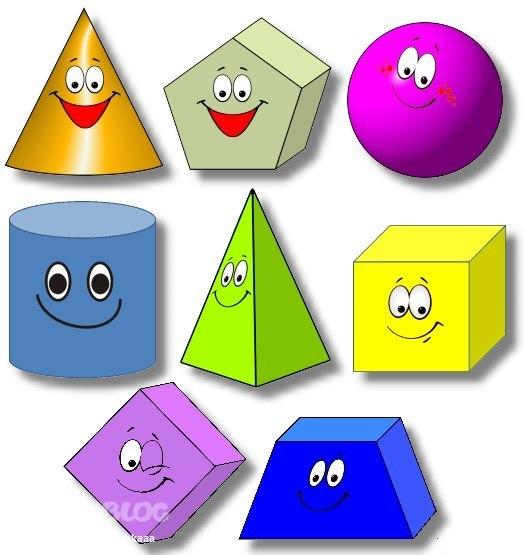 знакомим детей с геометрическими фигурами