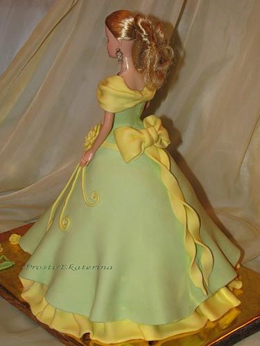 Торт кукла из мастики мастер класс