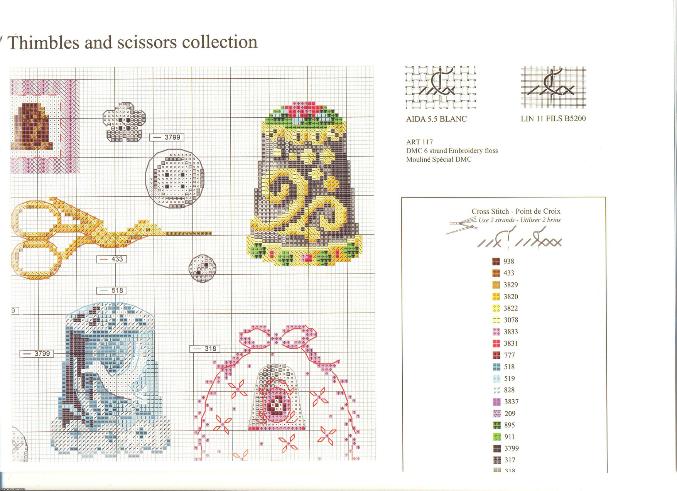 Схемы вышивки крестиком на