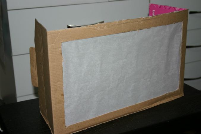 Театр теней из картона