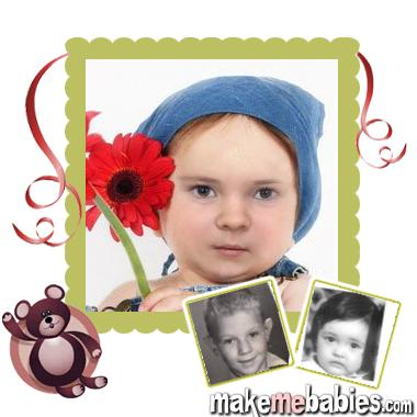 Создать фото будущего ребёнка