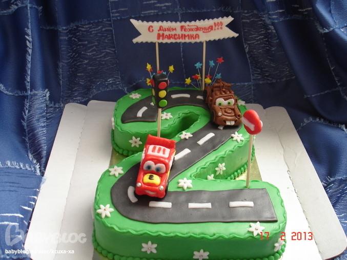 Торт для мальчика на 2 года своими руками 54