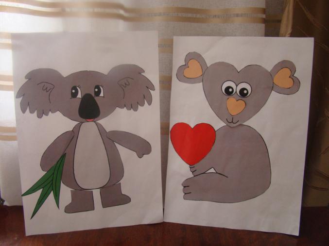 Животные австралии поделки для детей 90