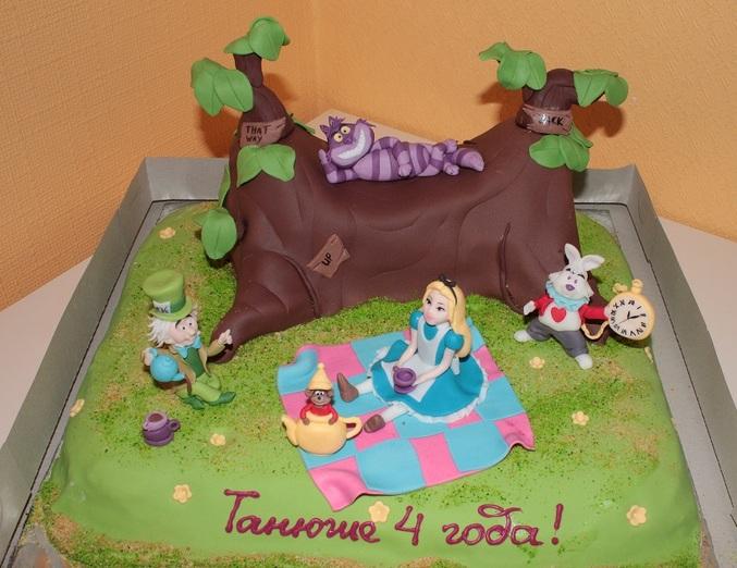 Торт на день рождения дочке рецепт с фото