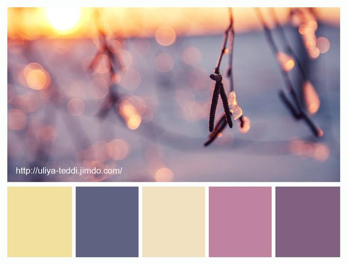 сочетание цветов в дизайне фото: