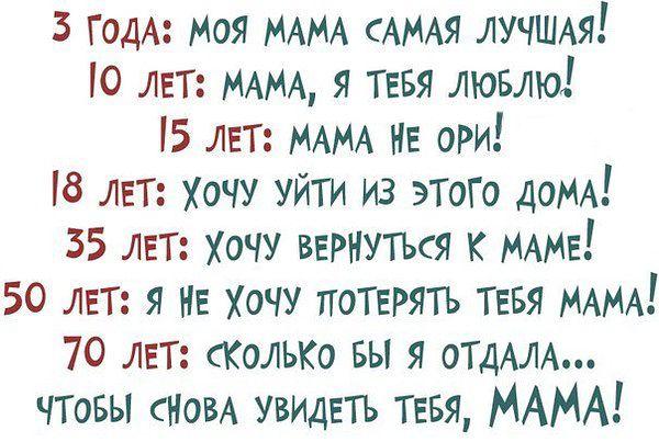 15 лет мама не ори: