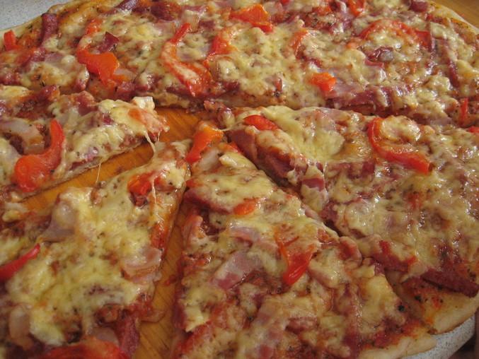 вкусная пицца рецепт с фото