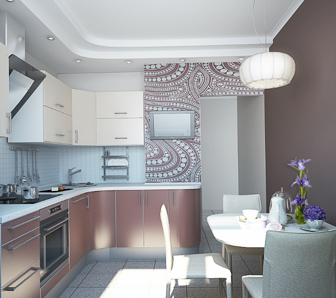 Дизайн кухни 2на3