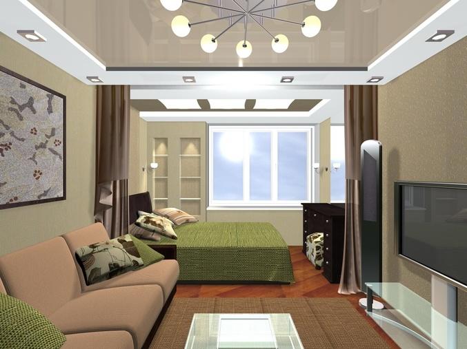 Дизайн и интерьер комнаты 20 кв м