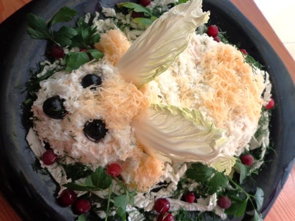 Салат на пасху рецепт фото