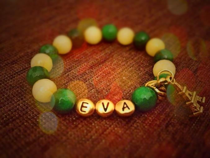 Как сделать именные браслеты с буквами 166