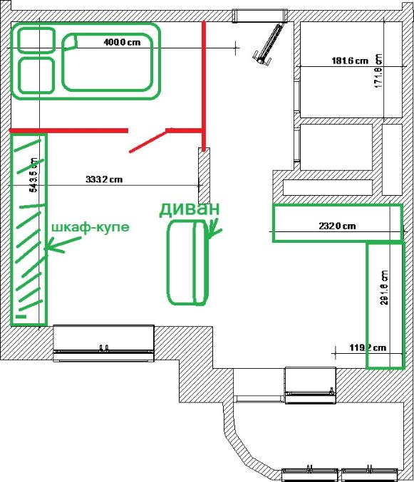 Дизайн маленьких квартир самим 660