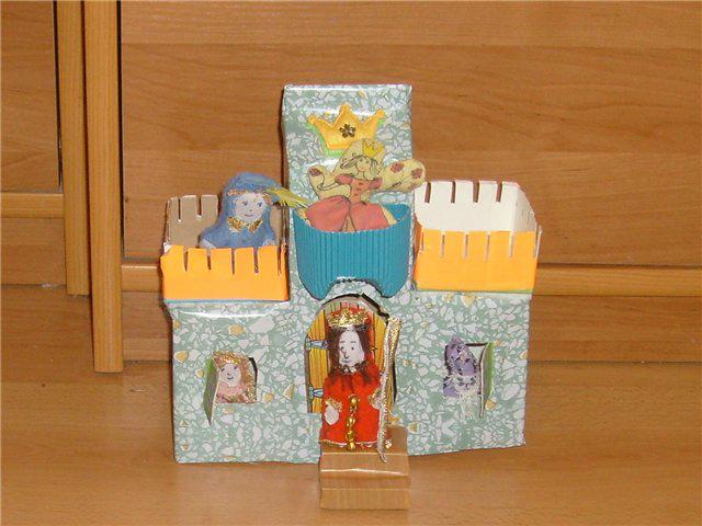 Домики с коробок из под сока своими руками для детей