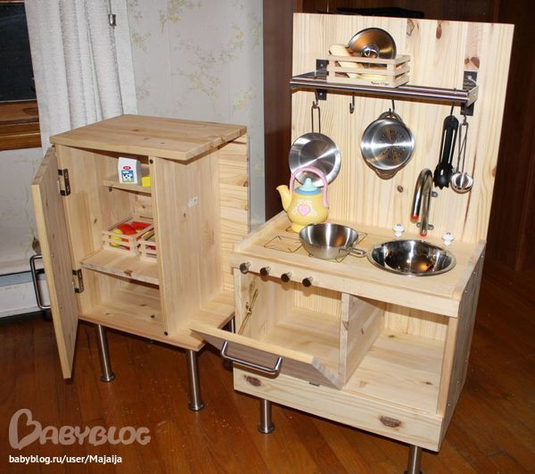 Кухня из коробок своими руками