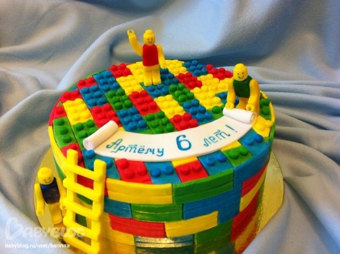 Лего как сделать торты 679